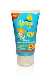"""Крем для защиты от солнца на суше и на море """"Africa Kids"""", SPF 50, 150мл Формула 406"""